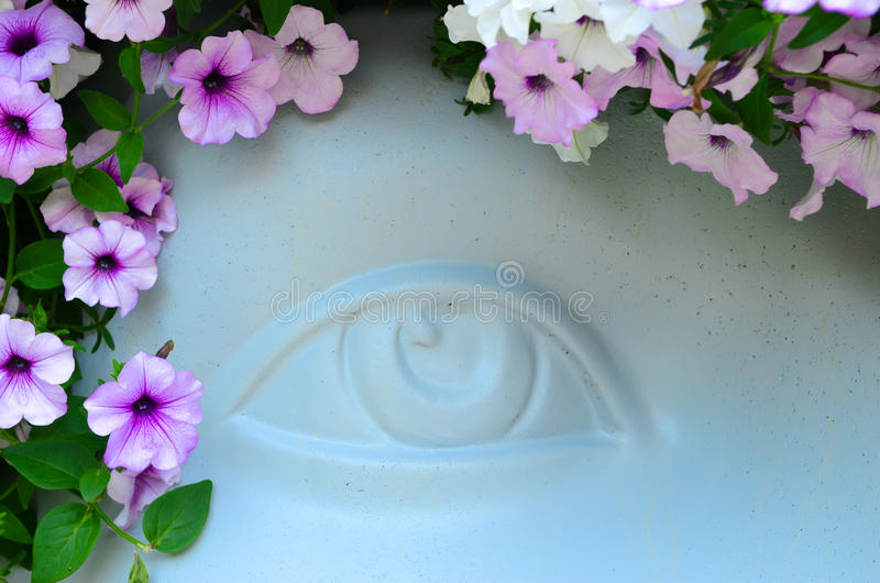 Visionary eye royalty free stock images