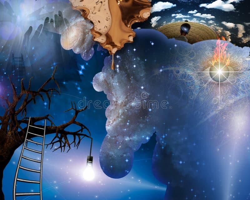 Visionary royalty free illustration