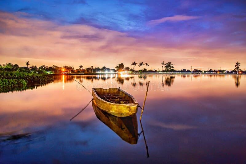 Visione di tramonto di Cipondoh immagine stock