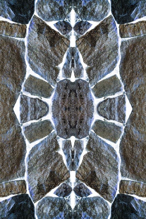 Visiones en el fondo de piedras foto de archivo