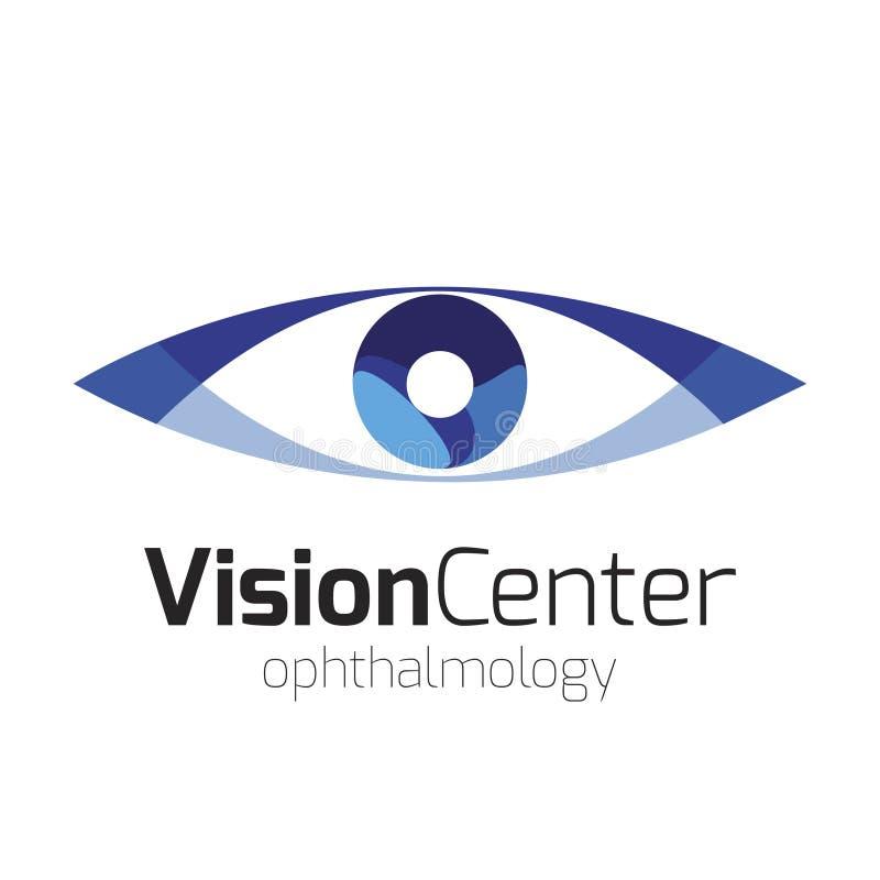 Visionmittlogo arkivfoto