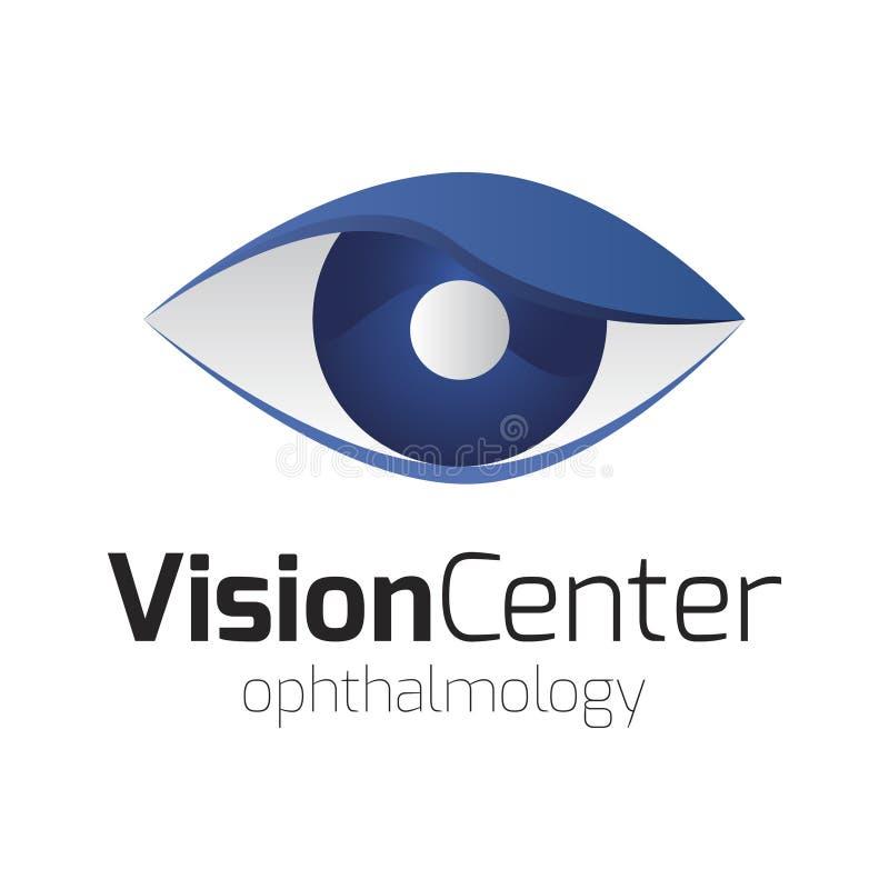 Visionmittlogo arkivbilder