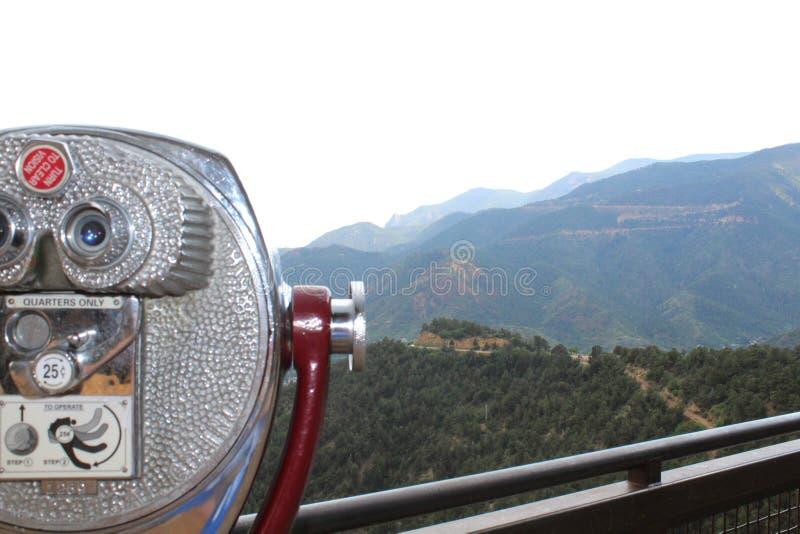 Visionneuse de tour de Colorado Springs image stock