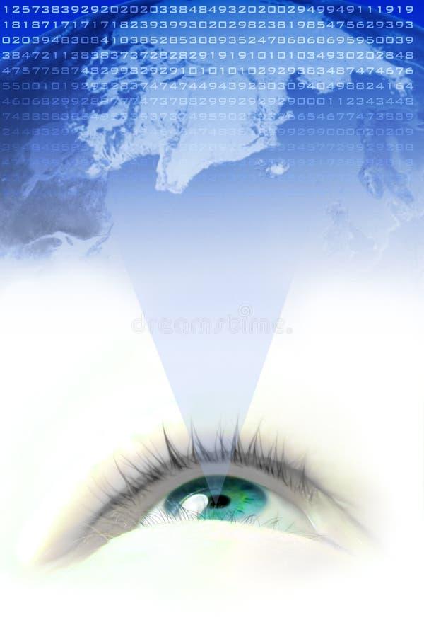 visionvärld royaltyfri bild