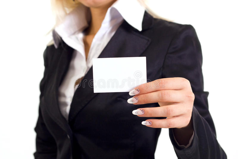 Download Visit card stock photo. Image of happy, executive, beauty - 21893960
