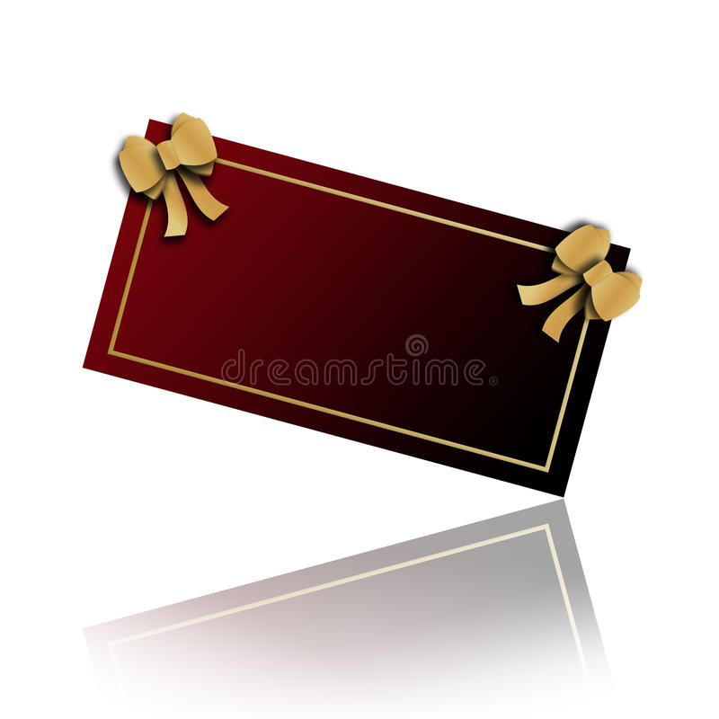 Download Visit card stock illustration. Illustration of loop, color - 27627285