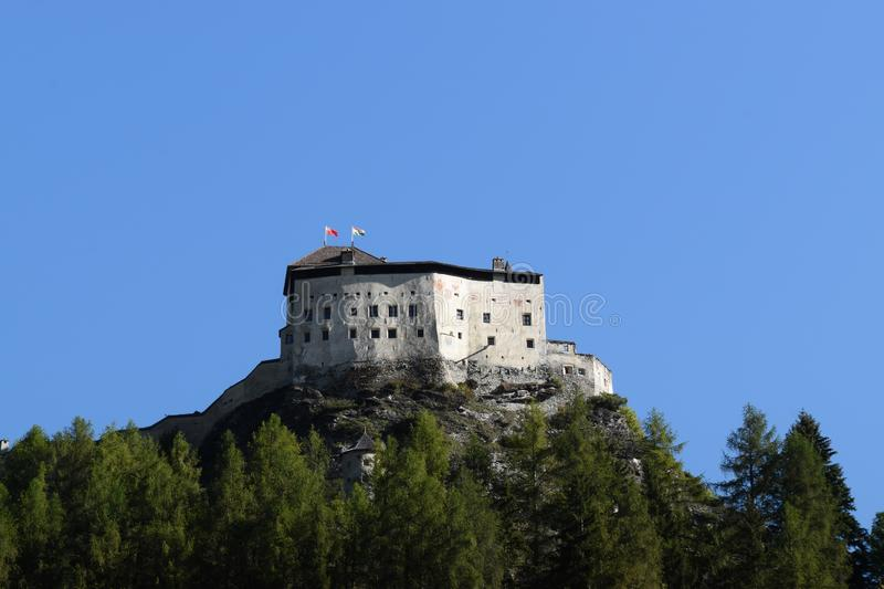 Visit Engiadina - Scuol and other host cities. Engiadina is a special part of Switzerland. Fall in love with this pictures royalty free stock images