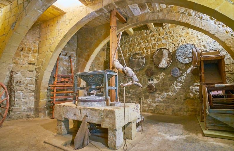 Visit Gran Castello Historic House, Victoria, Gozo, Malta stock photo