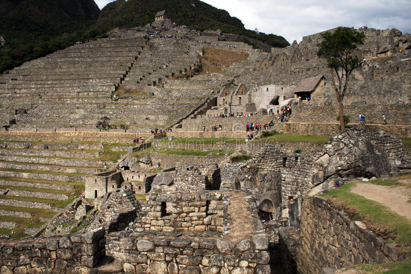 Visit machu pichu stock photos