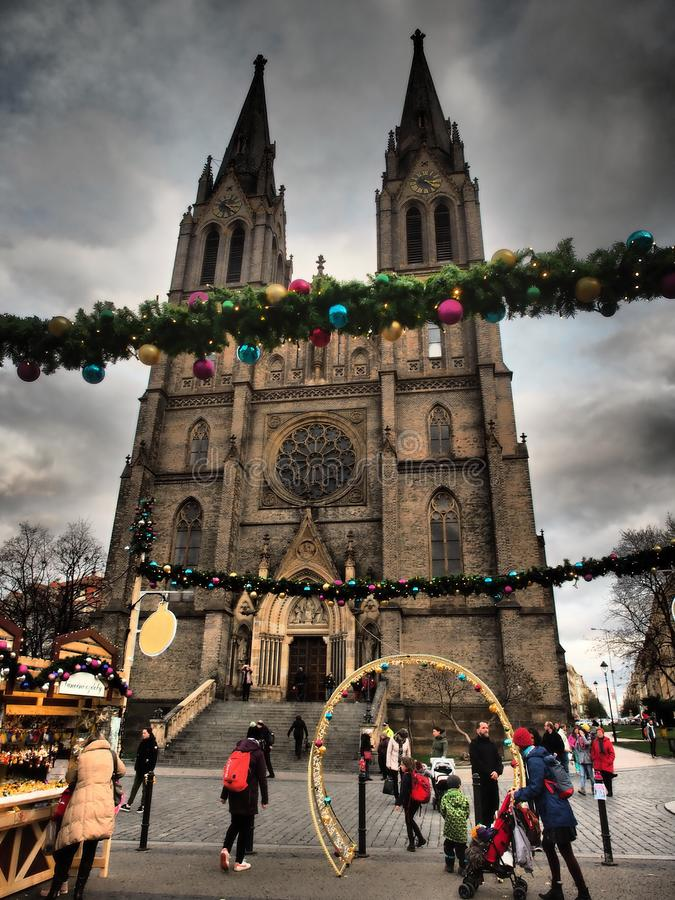 Free Visit This Beautiful City On Christmas Holidays. Prague Has Amazing Christmas Markets With A Wonderful Atmosphere. Royalty Free Stock Photo - 166486485