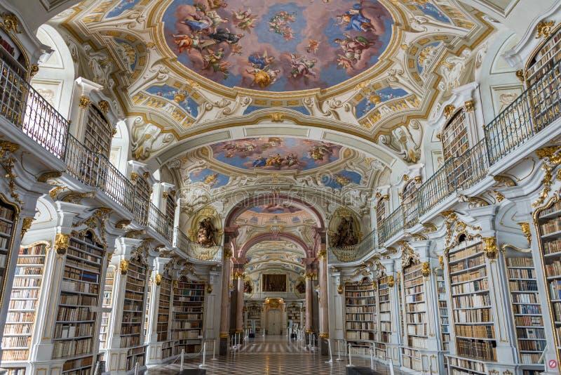 Visit to Admont Abbey in Styria. Austria stock photo