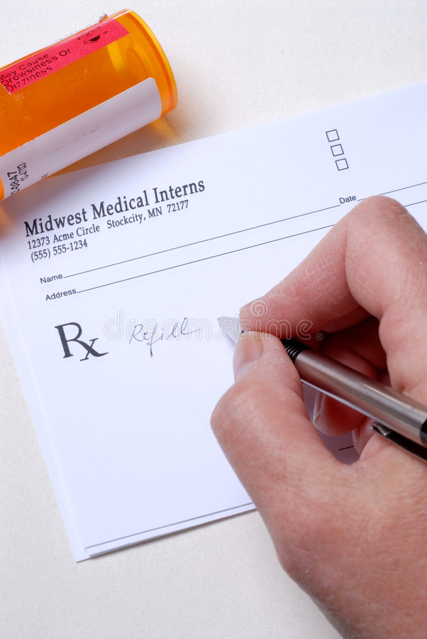 Visit To The Doctors Office royalty free stock photography