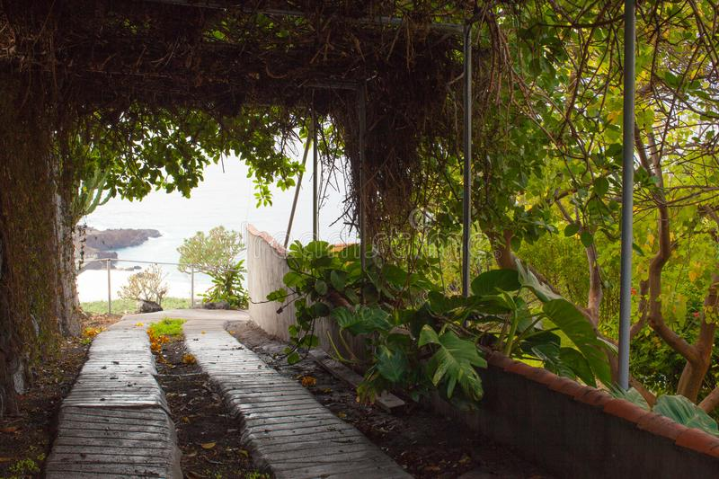 A visit to the island of La Palma on the Atlantic ocean royalty free stock photos