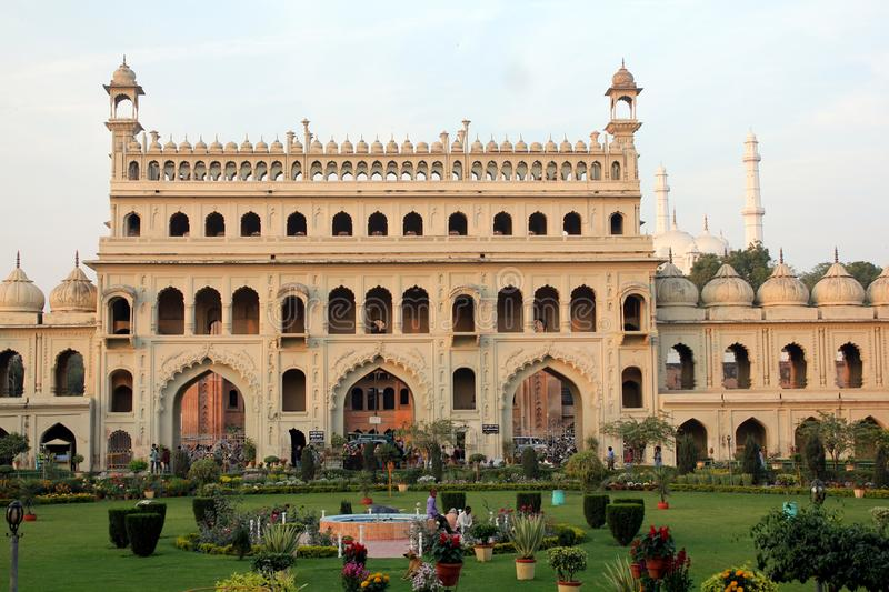 A visit to Lucknow, the city of Nawabs having rich heritage buildings and also contemporary structures royalty free stock photos