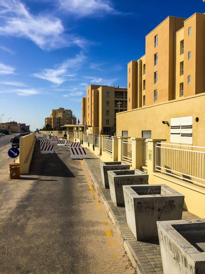 Visit to Tripoli in Libya in 2016. Field visit to Tripoli in Libya in 2016 royalty free stock image