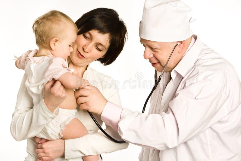 Visita Al Doctor Imagen De Archivo Gratis