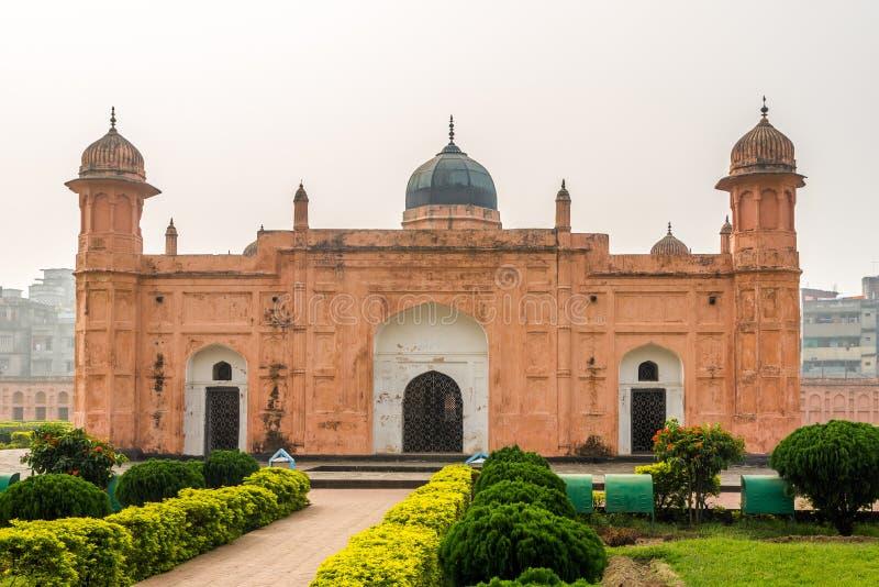 Visita alla tomba di Pari Bibi a Lalbagh Fort - Dhaka, Bangladesh fotografie stock