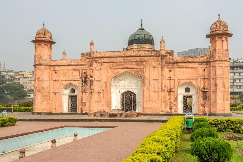 Visita alla tomba di Pari Bibi a Lalbagh Fort - Dhaka, Bangladesh fotografia stock