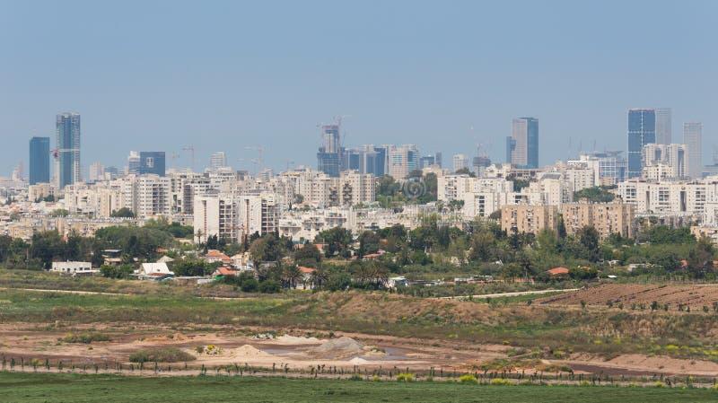 Visita a Hiriya (parque de Ariel Sharon) imagen de archivo