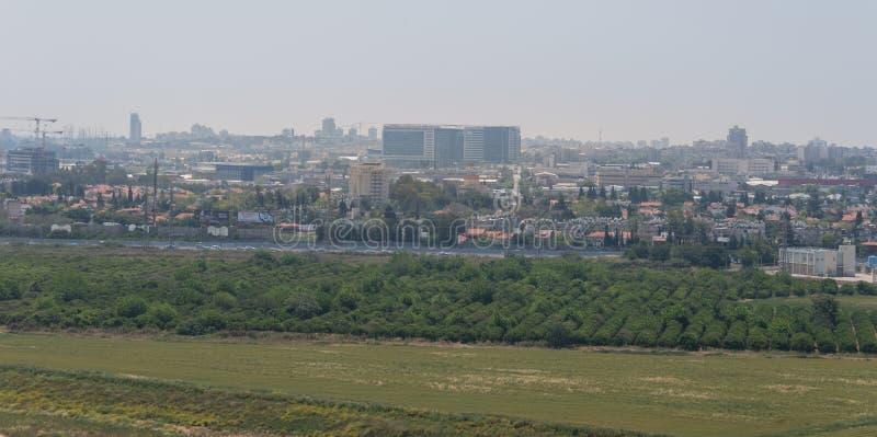 Visita a Hiriya (parque de Ariel Sharon) fotografia de stock royalty free