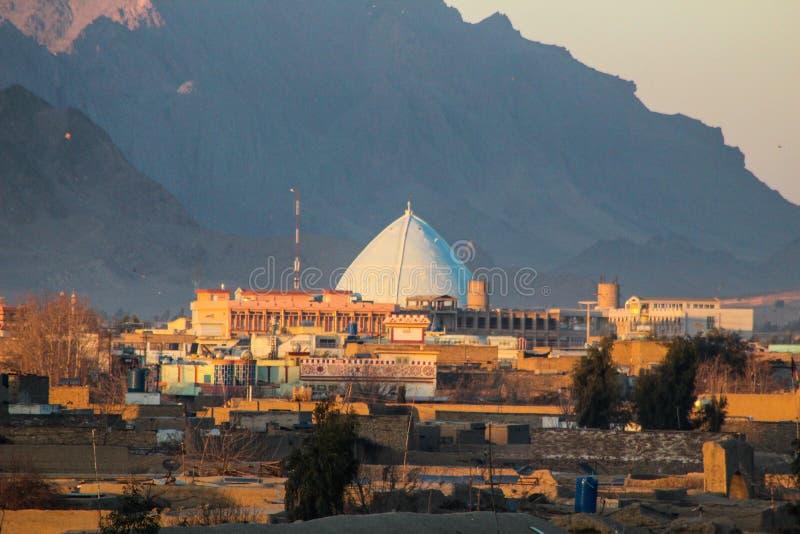 Visita a Kandahar em Afeganistão em 2017 fotos de stock royalty free