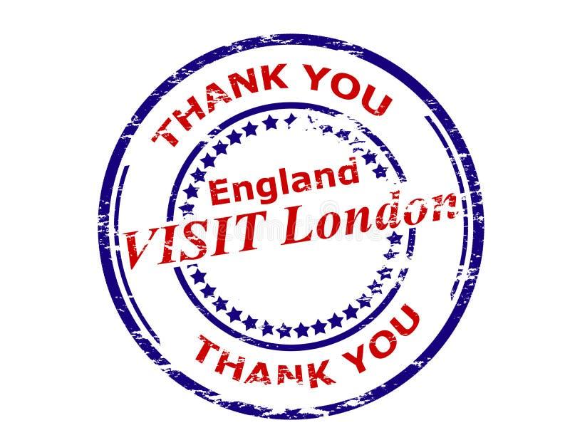 Visita Londres Inglaterra ilustração do vetor
