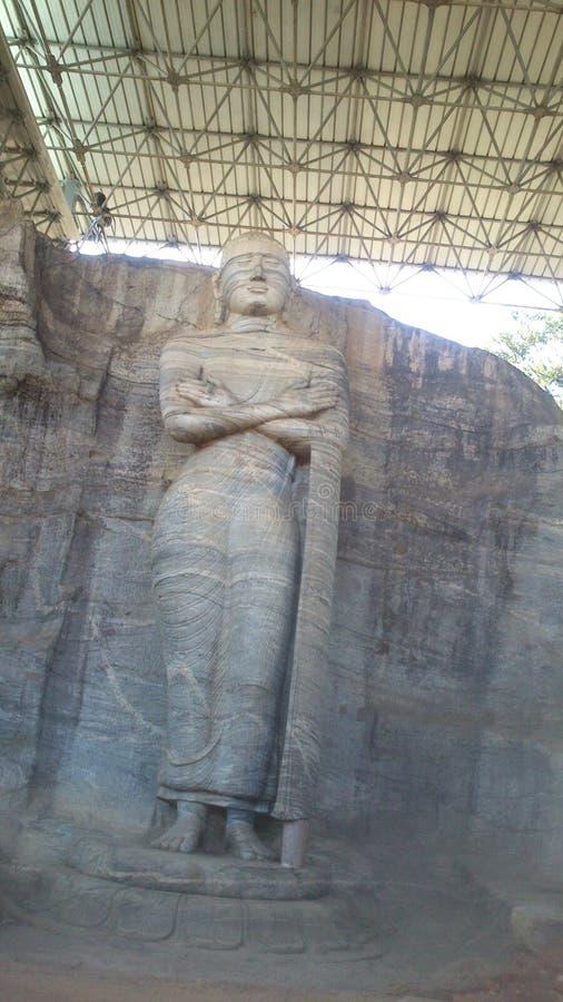Visita religiosa Anuradhapura Sri Lanka de Budhism fotos de archivo libres de regalías