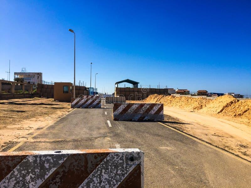 Visita a Tripoli in Libia nel 2016 fotografia stock libera da diritti