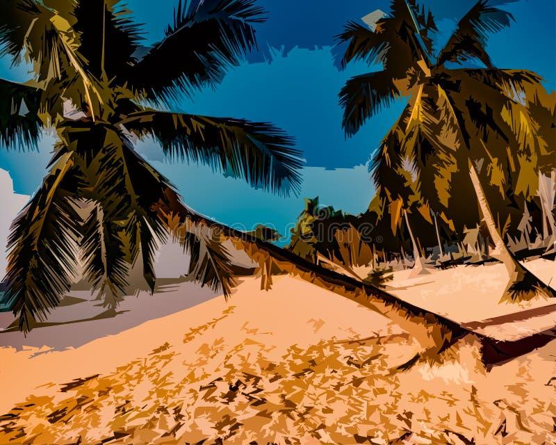 Visita tropical fotografía de archivo