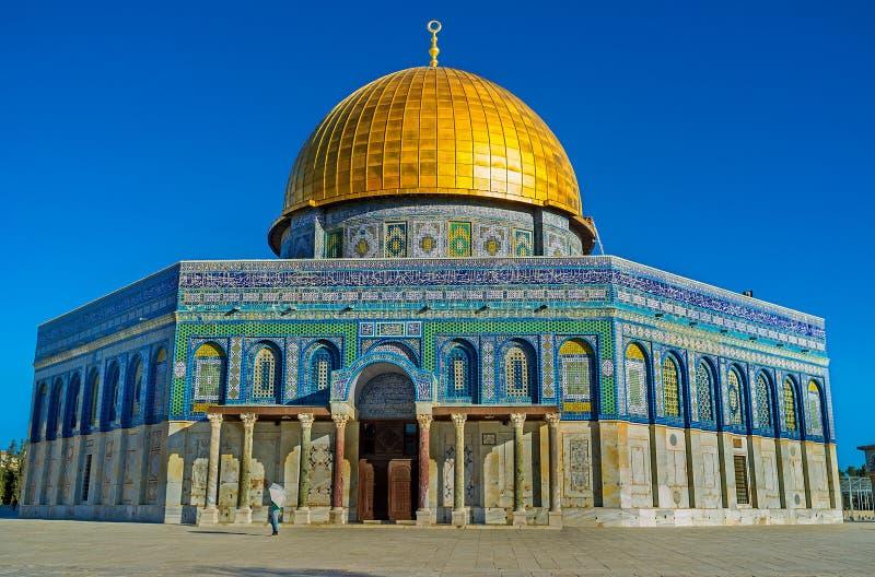 Visitando o Temple Mount fotos de stock royalty free