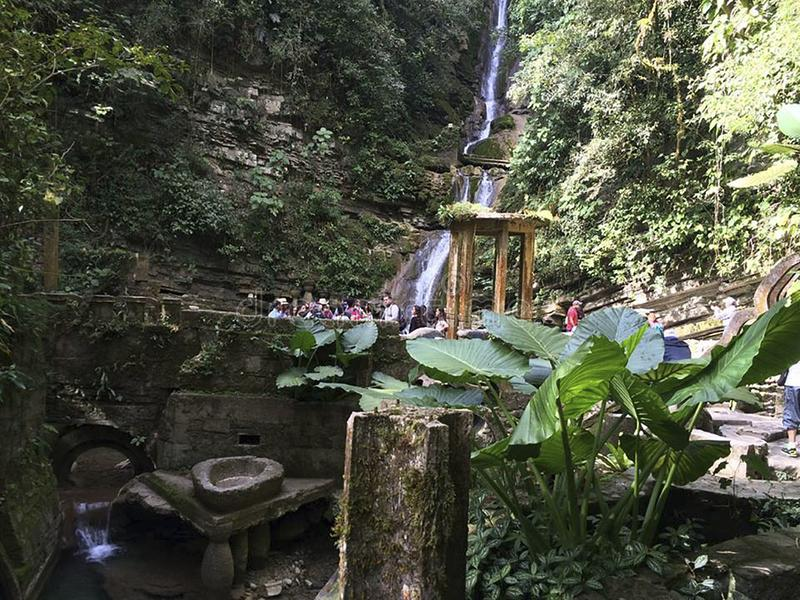 Visitando Xilitla Mexique image libre de droits