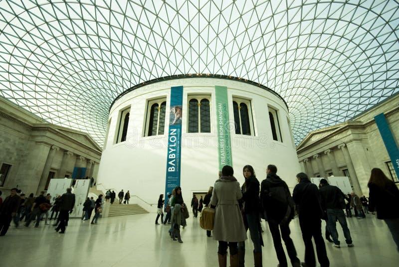 Visitantes do museu imagem de stock