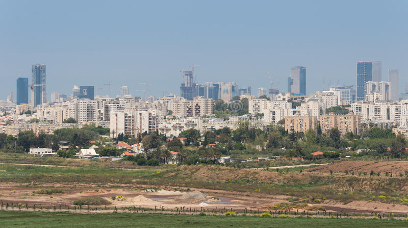 Visite à Hiriya (parc d'Ariel Sharon) image stock
