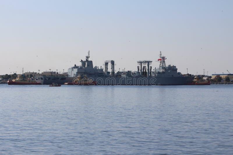 Visite chinoise de bonne volonté de marine photo stock