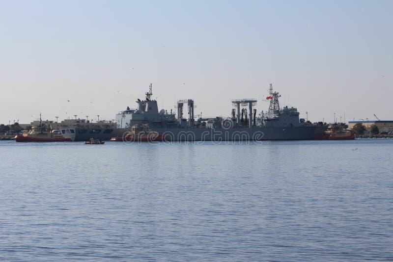 Visite chinoise de bonne volonté de marine photographie stock