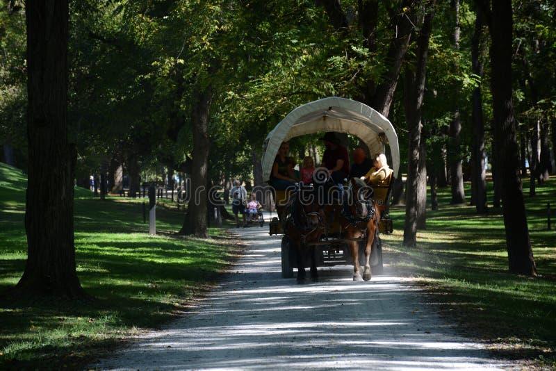Visite de chariot photos libres de droits
