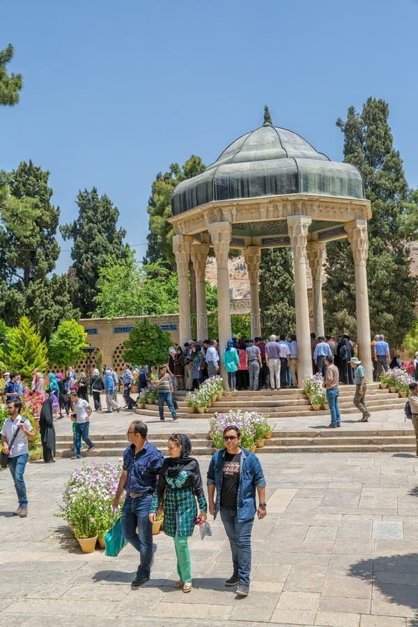 Visite de la tombe de Hafez photos stock