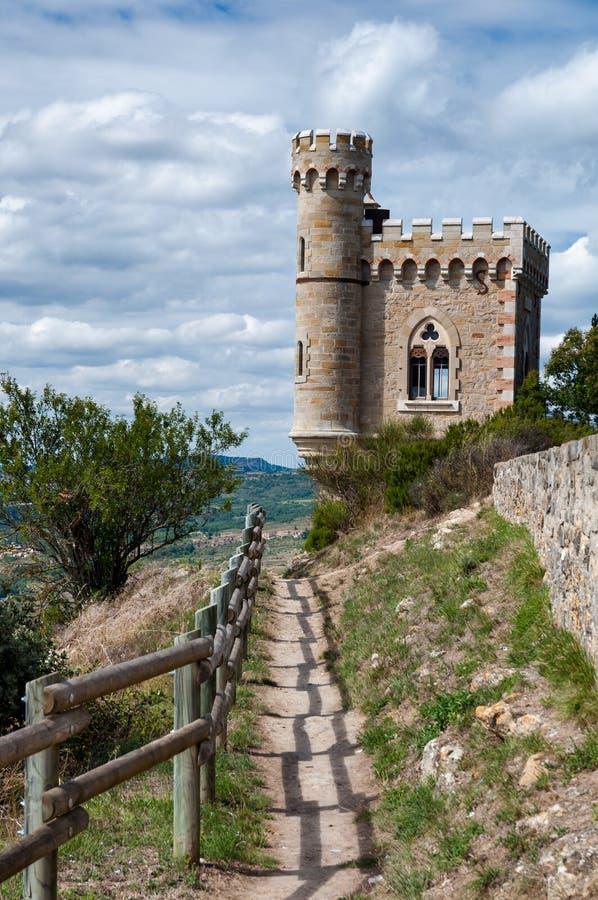 Visite de Magdala et chemin clôturé à Rennes le Chateau photo stock