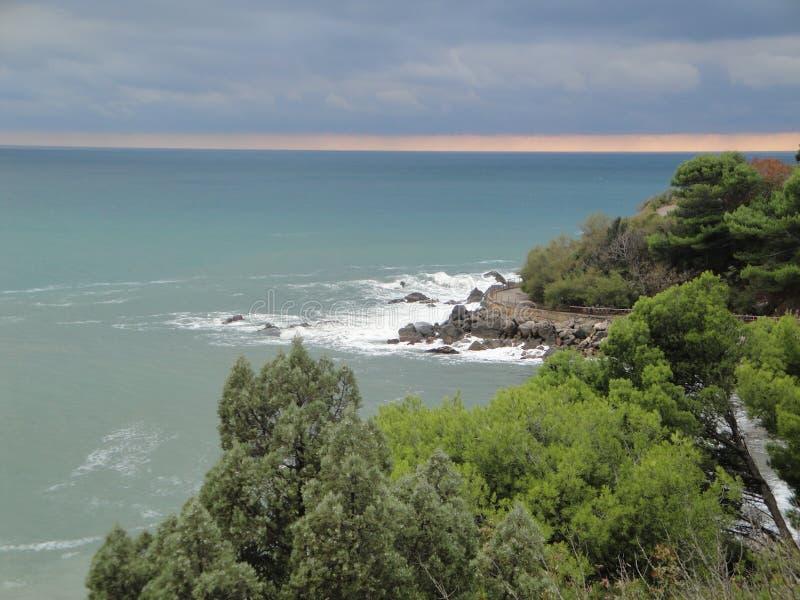 Visite de mer photo libre de droits