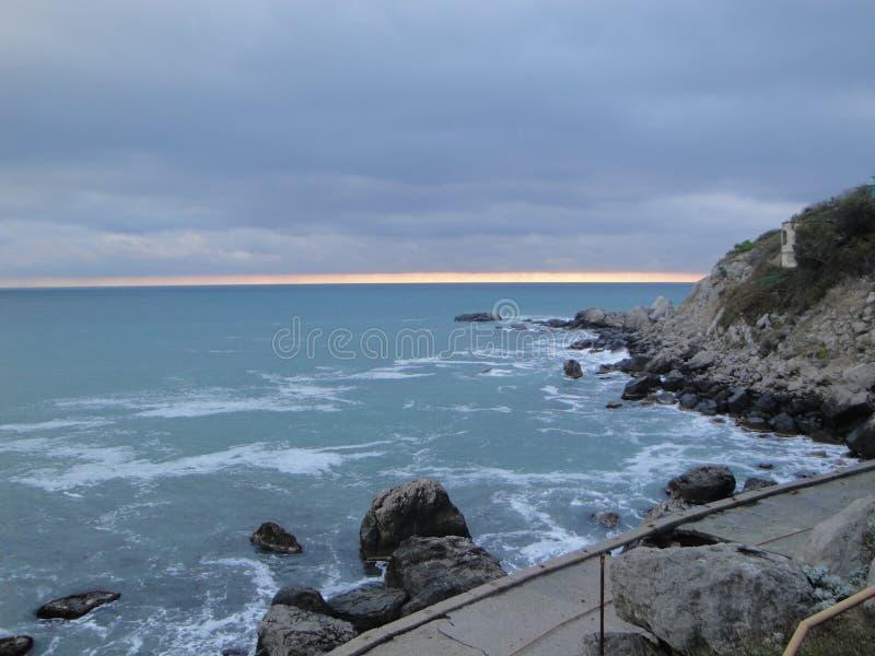 Visite de mer image libre de droits