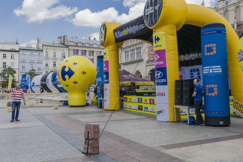 Visite de Pologne 2017 image stock