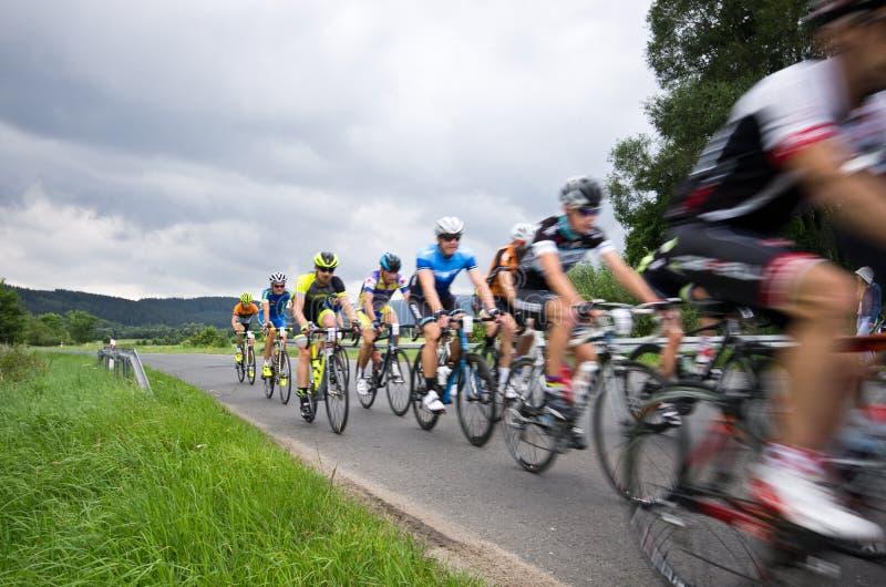Download Visite De Recyclage 2016 De Krkonose Image stock éditorial - Image du cycliste, excursion: 76081094