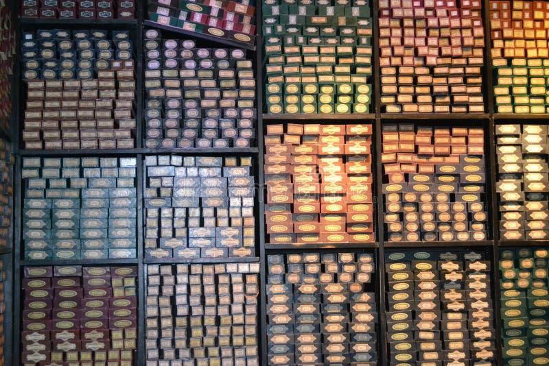 VISITE Leavesden Londres de POTIER de WARNER HARRY de BOUTIQUE de BAGUETTE MAGIQUE d'OLLIVANDERS images stock