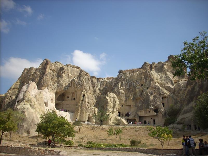 Visite rouge/route de Cappadocia photographie stock