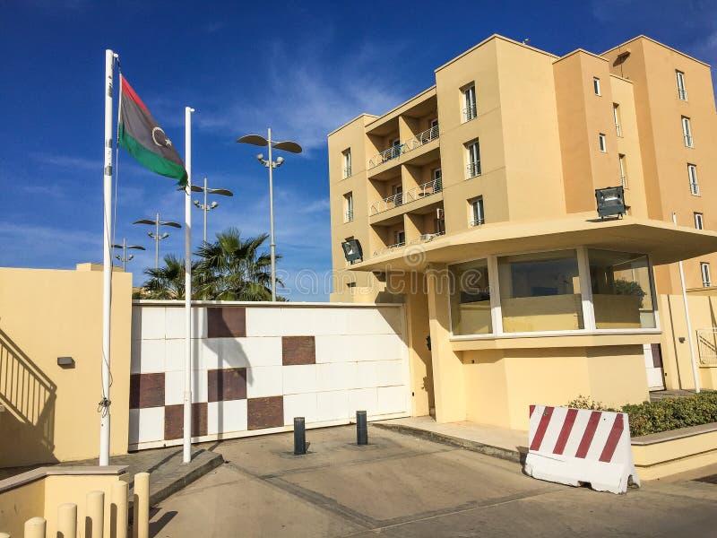Visite vers Tripoli en Libye en 2016 photo libre de droits
