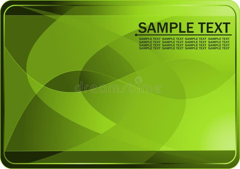 Visitenkarte vektor abbildung
