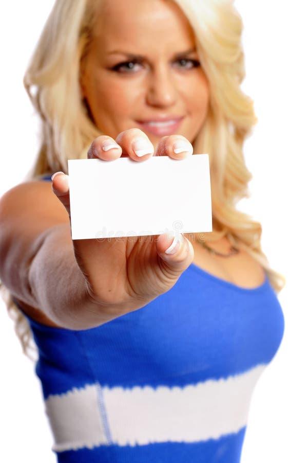Visitenkarte lizenzfreie stockfotografie