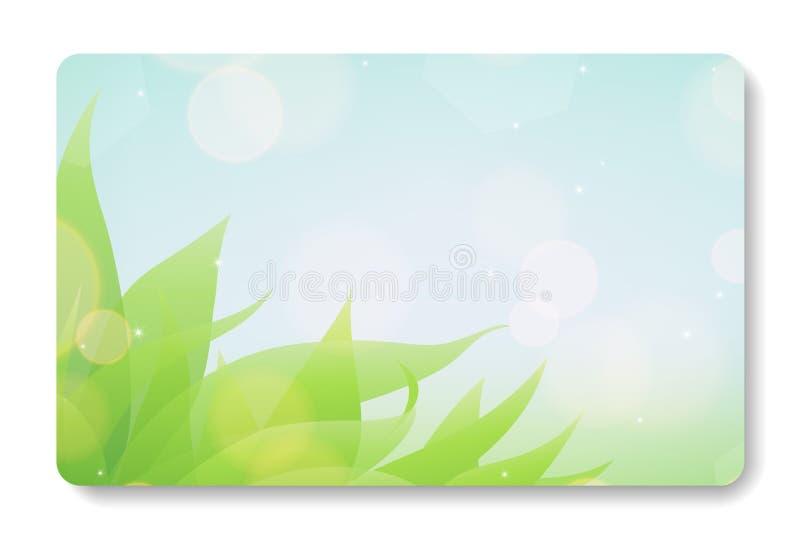 Visitenkartehintergrund lizenzfreie abbildung