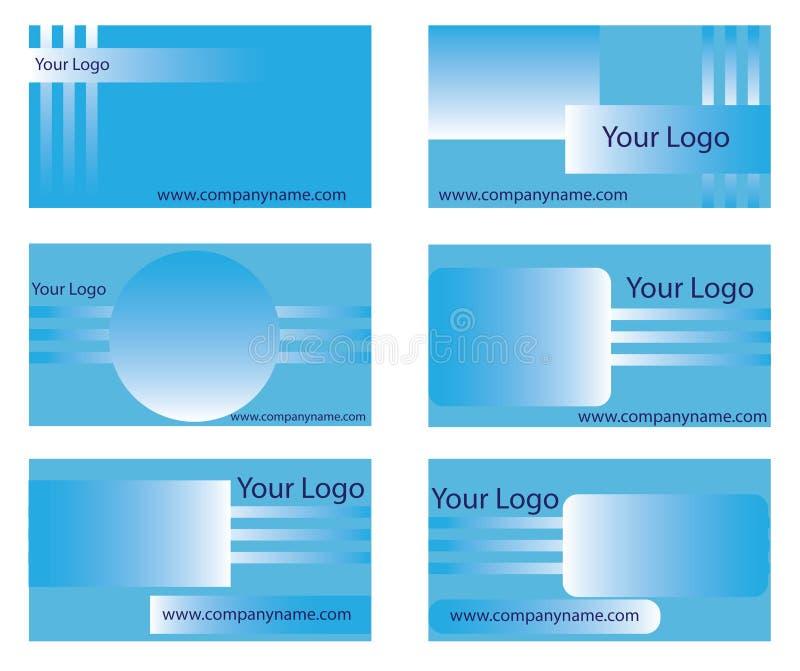 Visitenkarteschablonen lizenzfreies stockfoto