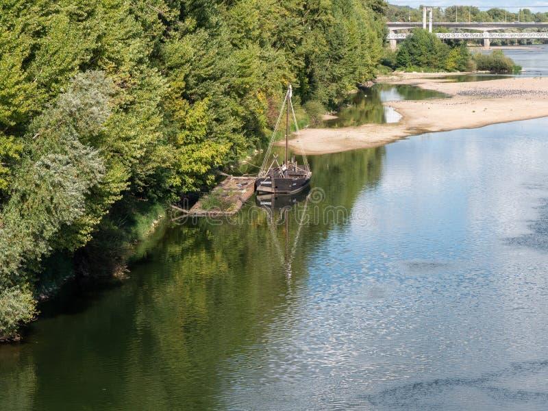 Visites et la Loire, Frances images stock
